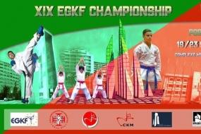 Karate: XIX EGKF Championship