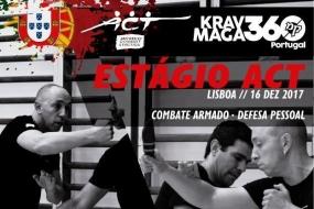 Krav Maga/ACT: Estágio de Combate Armado e Defesa Pessoal