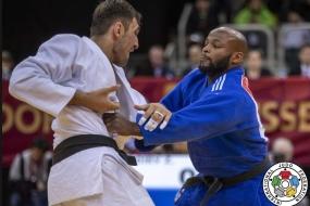 Judo: quintos lugares em Dusseldorf