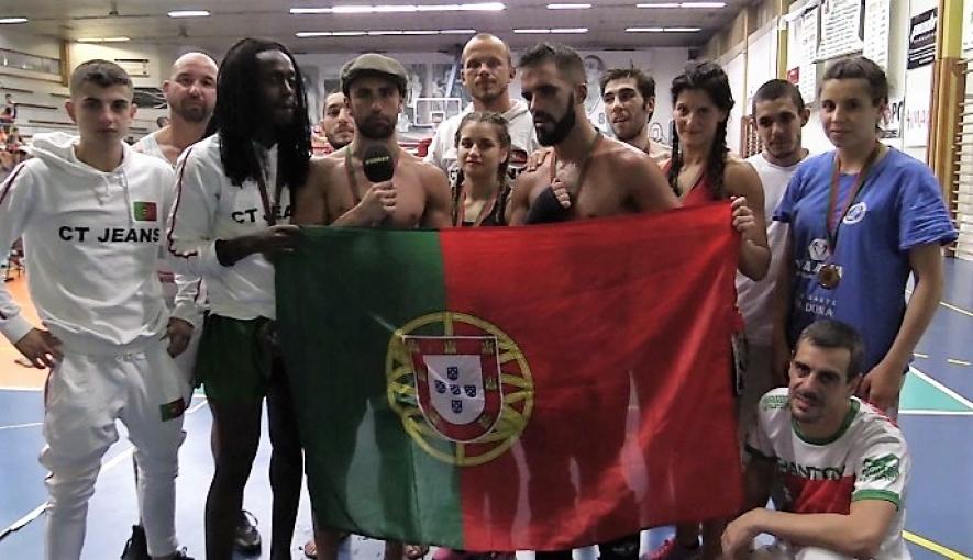 f1ed5f5d87d56 Kickboxing  Portugal vence Torneio do Mediterrâneo