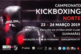 Kickboxing: Regional norte em Guimarães