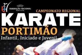 Karate: Regionais de Infantis a Juvenis