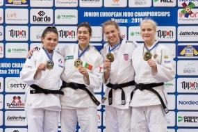 Judo: Patrícia Sampaio Bicampeã Europeia