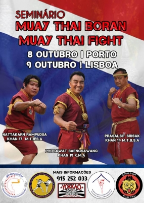 Muay thai: Seminário muay boran e fight